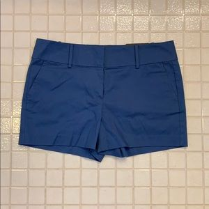 Ann Taylor Modern Fit City Short in Blue